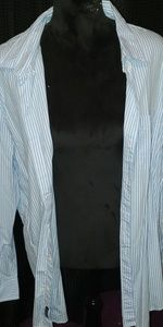 American Eagle Outfitters Shirts - Stripped Collared Button Down